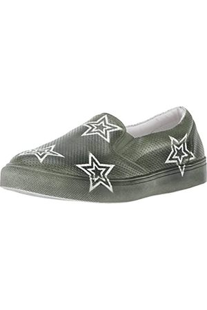 Mia Women's Star Fashion Sneaker, Olive