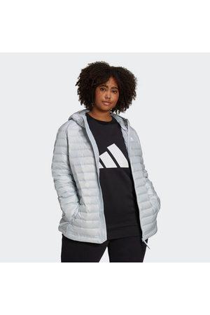 adidas Damen Outdoorjacken - Funktionsjacke »Varilite Down Hooded Insulation Daunenjacke – Große Größen«