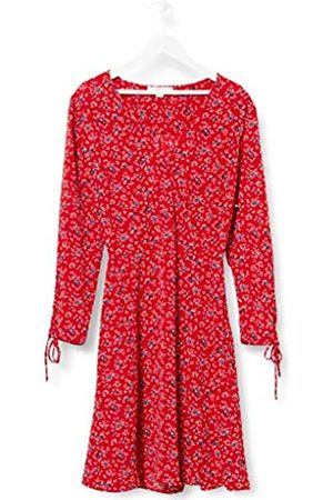 Springfield Damen 5.t.Vestido Amebas Plisad-c/66 Partykleid