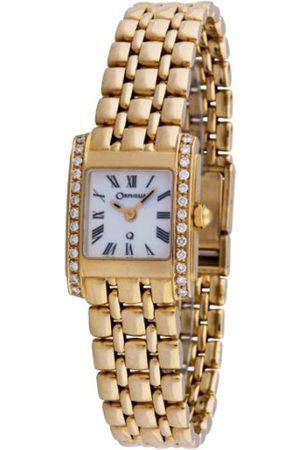 ORPHELIA Damen Uhren - Damen-Armbanduhr 18 Karat 750 Gelbgold & Diamond 50.2 Gramm mon-7020