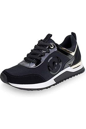 VIA MARTE Damen-Sneaker mit Plateausohle, bequem, zum Schnüren