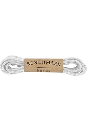 """Benchmark Basics 36"""" Dress Shoe Laces - Round Waxed Shoestrings for Shoes & Boots - 1/10"""" (2.5mm) Diameter - 1 Pair"""