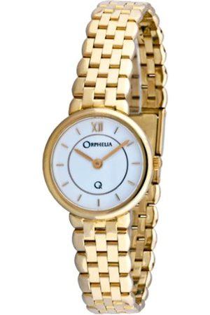 ORPHELIA Damen-Armbanduhr 18 Karat 750 Gelbgold 44.9 Gramm mon-7048