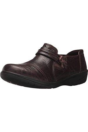 Clarks Damen Halbschuhe - Women's Cheyn Madi Loafer, Dark Brown Tumbled Leather