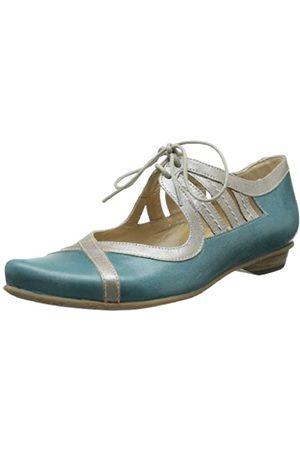Fidji Damen Schuhe - Damen L443 Flach, ( /Taupe)