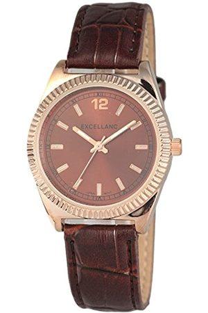 Excellanc Damen Uhren - Damen-Armbanduhr Analog Quarz Verschiedene Materialien 195237000029