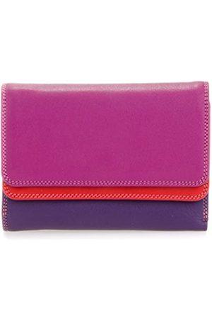 Mywalit Leder damen Geldbörse - double flap purse - 250-75 - Sangria multi