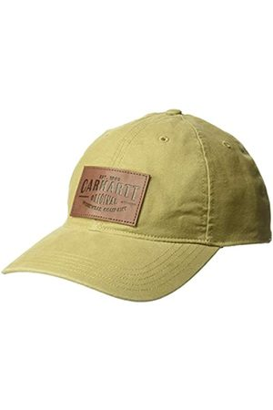 Carhartt Unisex-Adult Rigby Stretch Fit Leatherette Patch Baseball Cap