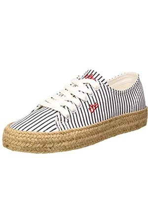 TBS Damen Schuhe - Damen Entasia Sneaker, (Off-White Raye Caverne U7e07)