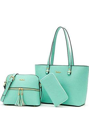 YZAOLL Geldbörsen und Geldbörsen-Sets für Damen, modische Schulranzen, Handtaschen, Schultertaschen