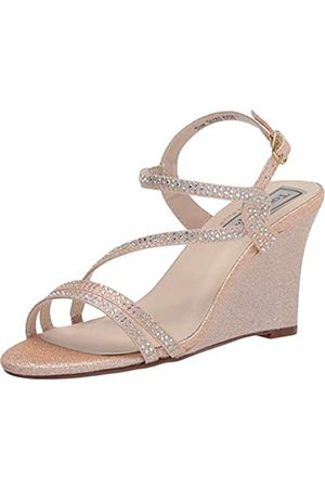 Touch Ups Women's Strappy Wedge Sandal Heeled