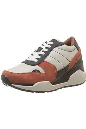 Maria Mare Mariamare Damen 62469 Sneakers, Mehrfarbig (Suede Teja/Negro C47163)