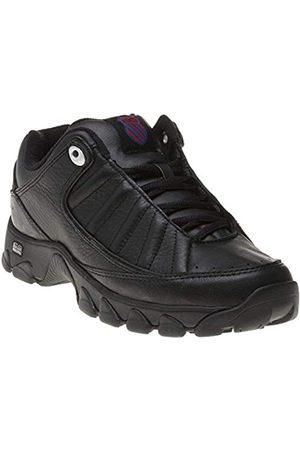 K-Swiss Damen Schuhe - Damen ST529 Heritage Sneaker, (Black/White/Ribbon Red 020)