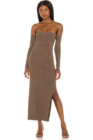 House of Harlow X REVOLVE Hazel Off Shoulder Dress in . Size XXS, XS, S, M, XL.