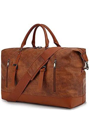 CALLPIONEER Reisetasche aus Leder, Übergröße