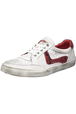 Yellow Cab Damen Schuhe - Damen SWAN W Sneaker, Mehrfarbig (Red)