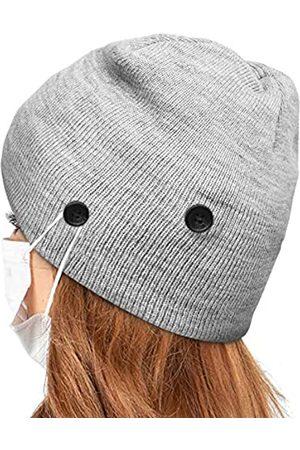 Linowos Unisex Mütze Strickmütze Slouchy, Long Beanie, weicher Stoff für Damen und Herren