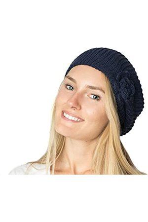 Accessory Necessary Damen Baskenmütze, gerippt, doppellagig