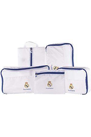 Real Madrid C.F. Real Madrid Gepäckorganizer – offizielles Produkt des Teams, mit 5 verschiedenen Teilen und aus sehr leichtem Nylon