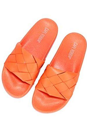 Cape Robbin Damen Sandalen - Scion Sandalen für Damen, Pantoletten zum Reinschlüpfen, Hausschuhe