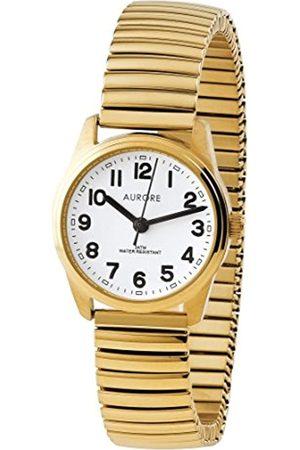 AURORE Damen Uhren - DamenAnalogQuarzUhrmitEdelstahlArmbandAF00008