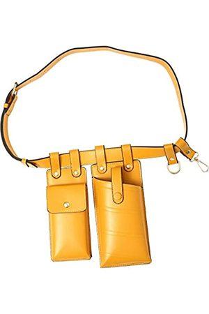 Unbekannt LXDUDAL Modische Hüfttasche für Frauen, Crossbody-Brusttasche, Telefon-Umhängetasche, Gürteltasche, abnehmbare Hüfttasche, Gürtel