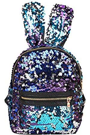 Gulilasa Schultertasche für Damen und Kinder Rucksack Pailletten Schultertasche Schultasche Reise Tagesrucksack - - Small