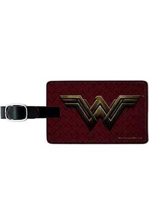 Graphics and More Gepäckanhänger aus Leder, Motiv: Justice League Movie Wonder Woman Logo