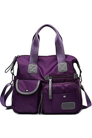 YouNuo Damen Handtaschen - Damen Handtasche mit Tragegriff Nylon Laptop Crossbody Bag Wasserabweisend Tote Schultertasche, (Hobo – )