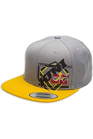 Kini Red Bull Slanted Cap – Trendige Snapback, Flexfit Kappe, Logo-Patch, Grafik Motiv-Cap, One Size, Größenverstellbar