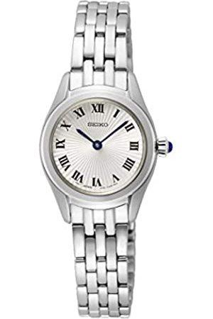 Seiko Damen Uhren - Damen Analog Japanisches Quarzwerk Uhr mit Edelstahl Armband SWR037P1