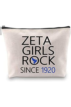 G2TUP Finer Women Zeta Phi Beta Sorority Kosmetiktasche Zeta Girls Rock Since 1920 Sorority Paraphernalia for Sorority Sister