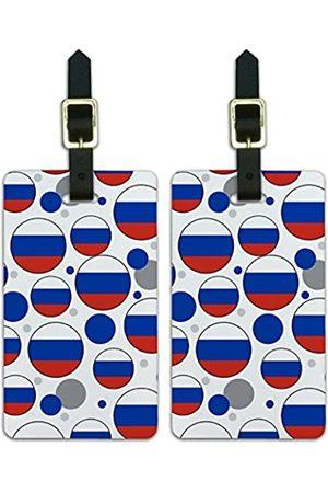 Graphics and More Graphics & More O-s-Russland Nationalflagge - Luggage.Tags.09671