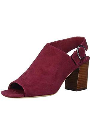 Via Spiga Damen A modern take on the peep toe, with a cool circle buckle and block heel. Sandalen mit Absatz, V-Elma