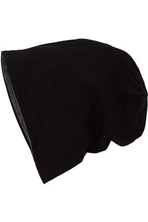 EPOXY Unisex Jersey Beanie Reversible Beanies Black/ht.Charcoal 10377