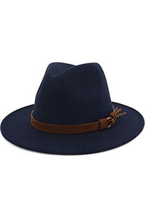 Lisianthus Fedora-Hut mit breiter Krempe, Vintage-Stil
