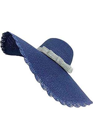Z-Ware Große Strohhut für Damen, mit breiter Krempe
