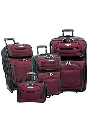 Travel Select Amsterdam Erweiterbares aufrechtes Gepäckstück (Rot) - TS-6950-RED