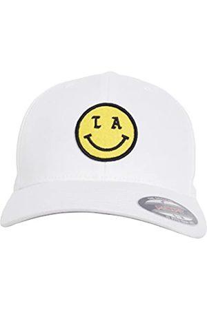 Mister Tee Uni LA Smile Flexfit Cap, White