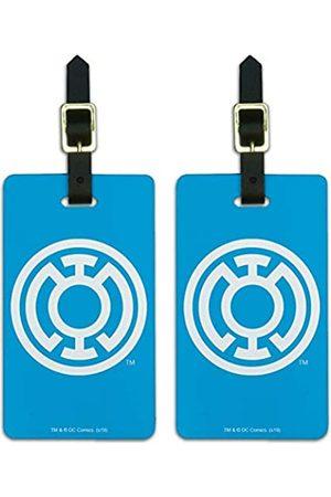 Graphics and More Green Lantern Blue Lantern Logo Gepäckanhänger Ausweiskarten 2er Set