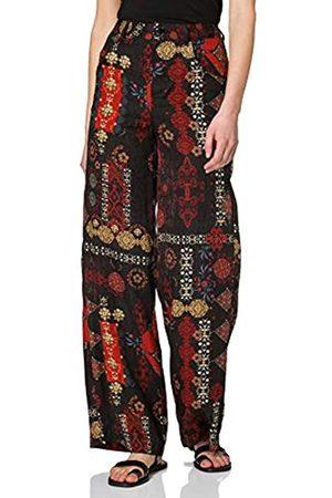 Desigual Womens INDA Casual Pants, Black