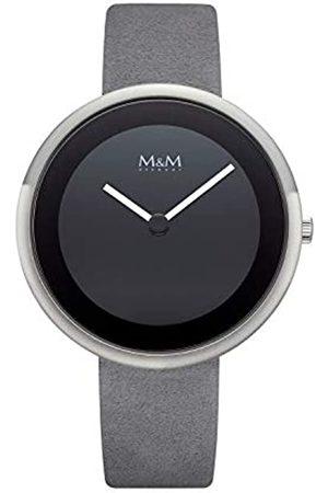 M&M Damen Uhren - DamenAnalogQuarzUhrmitLederArmbandM11946-825