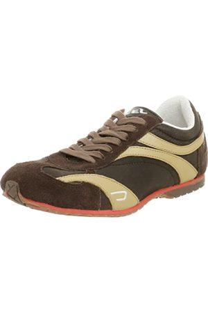 Diesel Damen Schuhe - Sport Damen Baffin Schnürschuh Mode Sneaker, (Earth)