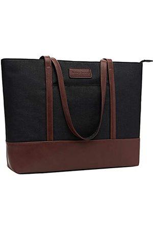 Sunny Snowy Damen Handtaschen - Laptop-Tragetasche, passend für 15,6–17 Zoll Laptops, Damen, leicht, wasserabweisend, Nylon