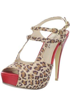 2 Lips Too Damen Pumps - Damen Too Gaga Pump, Mehrere (Leopard)