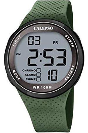 Calypso Uhren - Unisex Digital Quarz Uhr mit Plastik Armband K5785/5