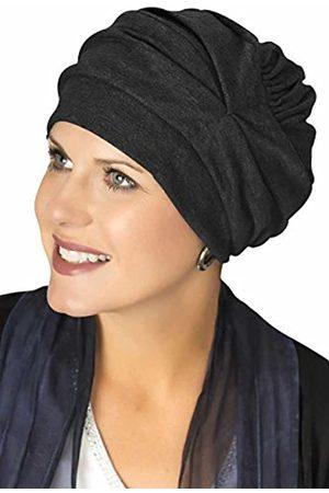 Headcovers Unlimited Dreifach-Turbanmütze für DREI Verschiedene Looks, 100 % Baumwolle