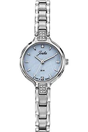 Joalia Damen Uhren - DamenAnalogQuarzUhrmitEdelstahlArmband633062