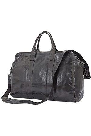 Berchirly Herren Leder-Reisetasche, groß, Handgepäck