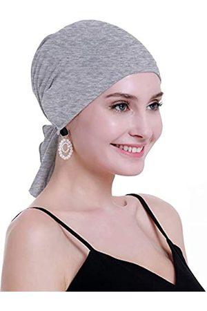osvyo Chemo-Kopftuch aus Bambus für Frauen, Haarausfall – Krebs, zum Reinschlüpfen, Kopfbedeckung, Turbane